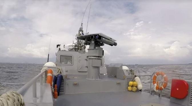 Angkatan Laut Filipina Selesaikan Uji Penerimaan Laut Rudal Spike ER