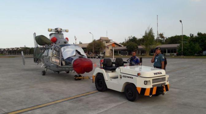 TNI Kirim Helikopter Dauphin Dukung Satgas Misi PBB