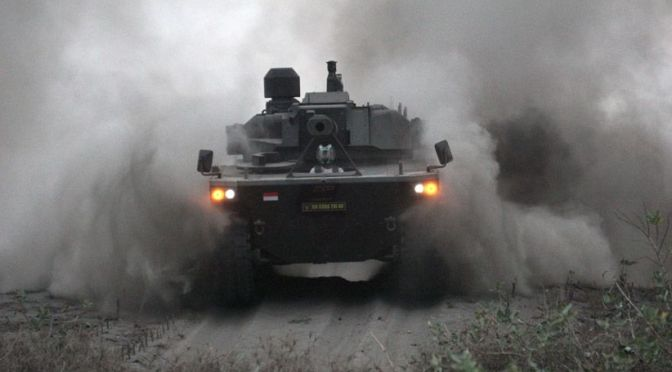 PT Pindad Pasarkan Medium Tank ke Filipina dan Bangladesh