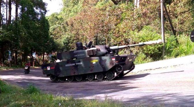 Uji Daya Gerak Medium Tank PT Pindad – FNSS
