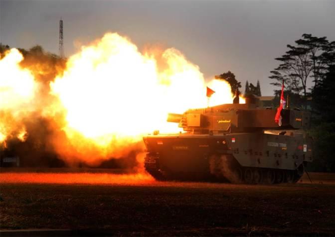 Pemerintah Pesan 44 Unit Medium Tank Buatan PT Pindad