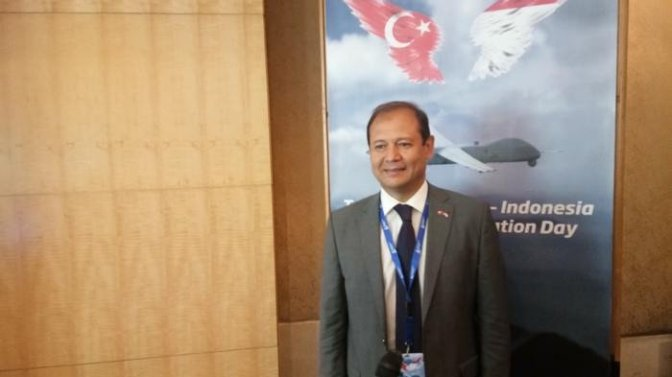 Turkish Aerospace Industries Inc Perkenalkan UAV ANKA ke Indonesia