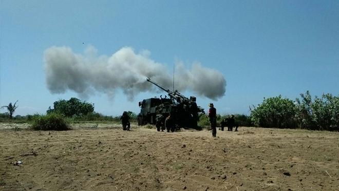 Yonarmed 12 Latihan Program Menembak Senjata Berat Teknis