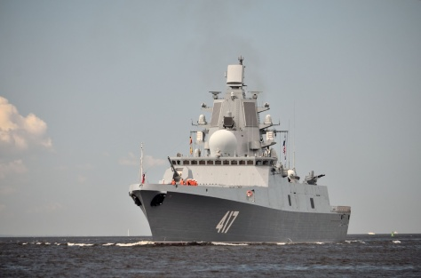 Adimral Gorshkov frigate project 22350 to be handed over to the Russian Navy in June. (Military and Commercial Technology)