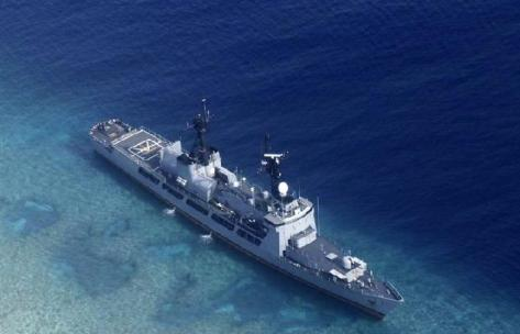 BRP Gregorio Del Pilar dioperasikan pada Desember 2011 (AP)