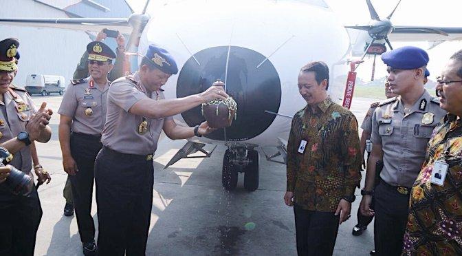 Serah Terima Pesawat CN295 Untuk Polri