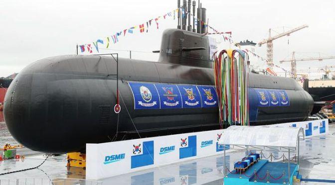 Korea Selatan Resmikan Kapal Selam Yang Mampu Menembakan Peluru Kendali