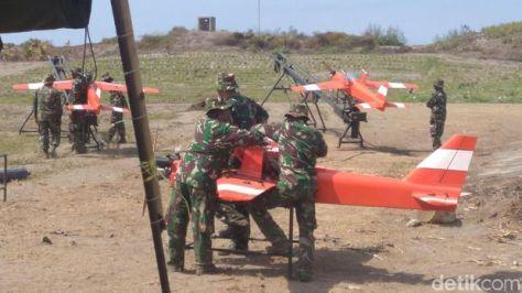 Drone target TNI AD