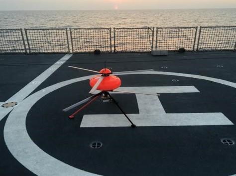 ECA Group_s airborne drone IT180