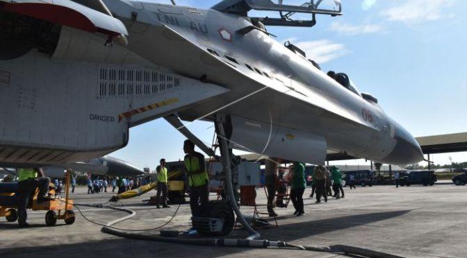 TNI AU Segera Bangun Shelter untuk Pesawat Tempur SU-35