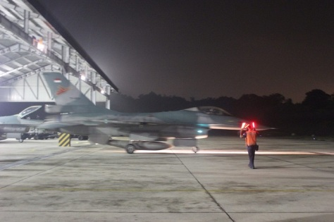 F-16 Skadron Udara 16 Latihan Terbang Malam (TNI AU)