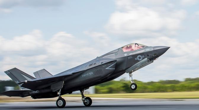 Pertama Kalinya, F-35B AS Jatuh