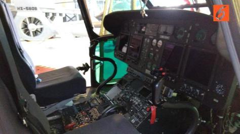 Helikopter Super Puma HX-3315. Liputan6.com 5