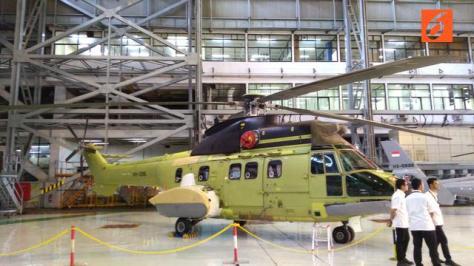 Helikopter Super Puma HX-3315. Liputan6.com 6