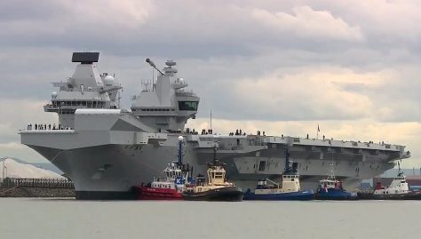 HMS Queen Elizabeth (UK Defence Journal)
