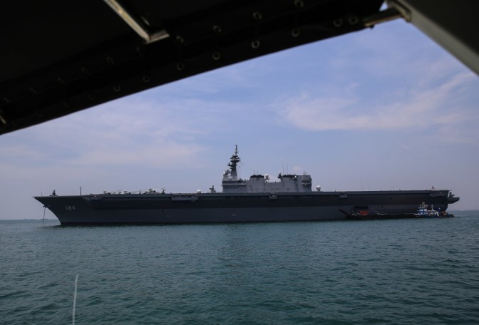 Kenangan Sejarah dalam Lawatan Tiga Unit Kapal Pasukan Bela Diri Maritim Jepang