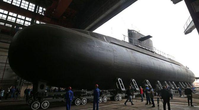 Rusia Akhirnya Luncurkan Kapal Selam Kelas Lada