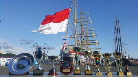 KRI Bimasuci 945 Raih Sejumlah Penghargaan Dalam Sail Regatta 2018