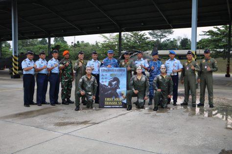 Lanud RSN Kembali Lahirkan Tiga Penerbang Tempur Hawk 100 200