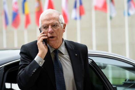 Menteri Luar Negeri Spanyol, Josep Borrell. (AFP)