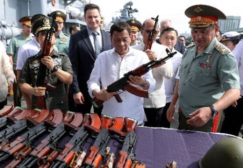 PHILIPPINES-RUSSIA-MILITARY-ARMAMENT-DIPLOMACY