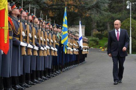 Presiden Rusia, Vladimir Putin. (Sputnik)