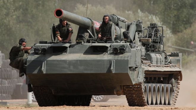 Rusia Akan Gelar Latihan Perang Terbesar sejak era Perang Dingin