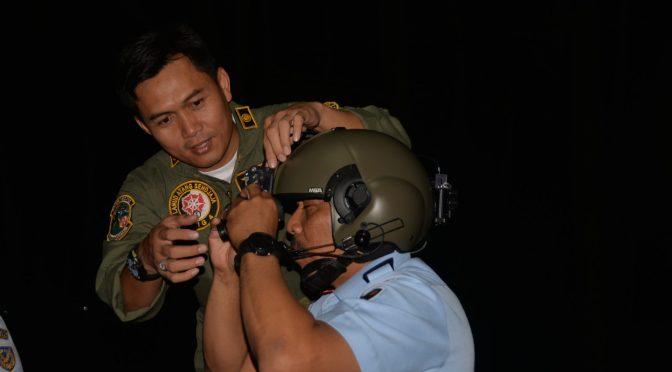 Skadron Udara 8 Lanud Atang Sendjaja Kini Memiliki Night Vision Google