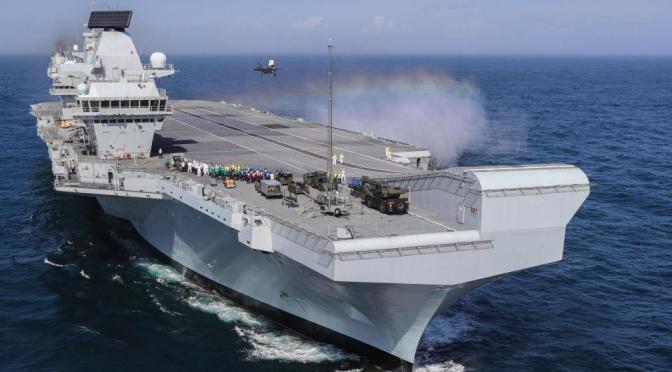Inggris Remehkan Rusia Karena Miliki Kapal Induk Terbesar dan F-35