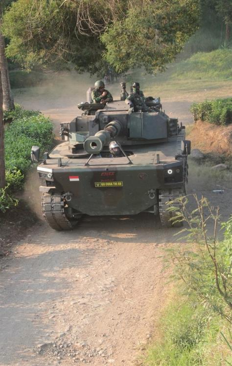 Uji Daya Gerak Medium Tank PT Pindad - FNSS (def.pk) 6