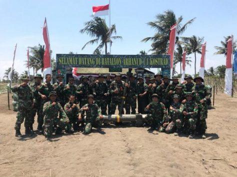 Yonarhanud 1 Kostrad Berhasil Menembak Jatuh Sasud Pada Latbakjatrat di Ambal Kebumen dengan Mistral Atlas 1