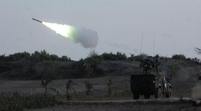 Yonarhanud 1 Kostrad Berhasil Menembak Jatuh Sasud Pada Latbakjatrat