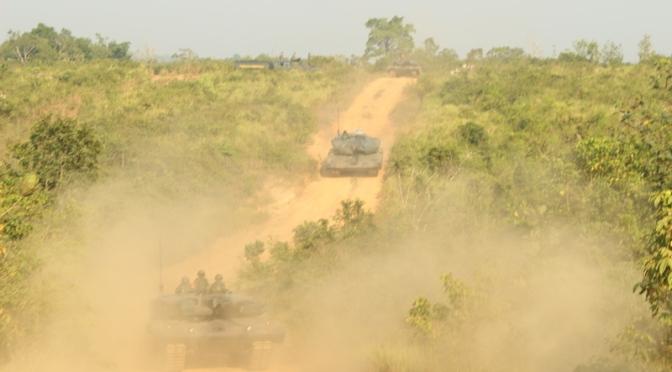 Kostrad Laksanakan UST Kompi di Baturaja