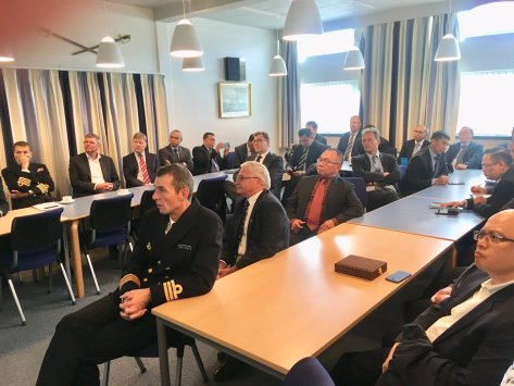 An interesting and fruitful meeting with DALO (Danish Acquisition Logistic Acquisition) at Korsør Naval Base. 8 Oct 2018 (Twitter KBRI Kopenhagen) 3