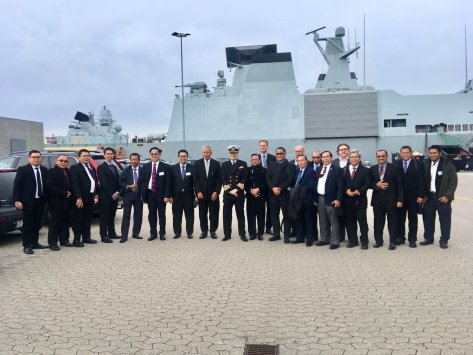 An interesting and fruitful meeting with DALO (Danish Acquisition Logistic Acquisition) at Korsør Naval Base. 8 Oct 2018 (Twitter KBRI Kopenhagen)