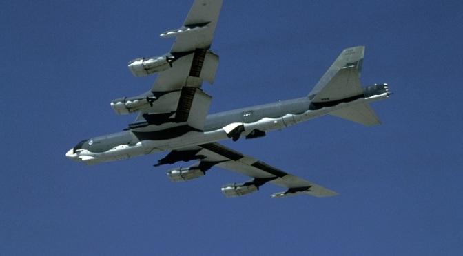 Pesawat Bomber Amerika Masuki Wilayah Udara Kaltara