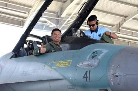 Barong Raih 3000 Jam Terbang dengan F-16