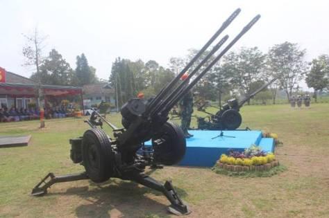 Beberapa alutsista Denhanud 474 Paskhas Yogyakarta akan diremajakan untuk meningkatkan kemampuan. (Sindonews)