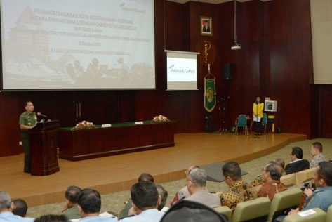 Bersama Universitas Indonesia dan Pinhantanas Indonesia Bisa