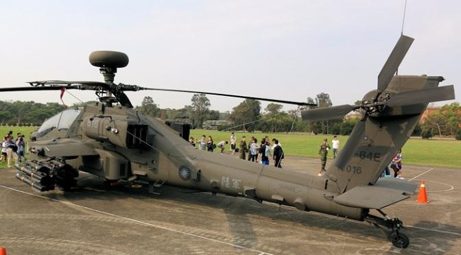 Taiwan Berancana Buka MRO untuk Helikopter Apache
