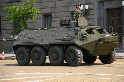 BTR-60 Bulgarian (Tank Encyclopedia)