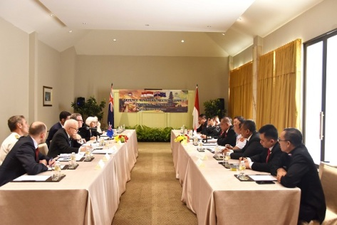 Defence Ministers Meeting RI - Australia