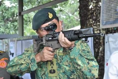 Direktur Bisnis Hankam, Widjajanto menerima kunjungan Kasad Brunei, Brigadier General Dato Seri Pahlawan Awang Khairul Hamed bin Awang Haji Lampoh ke PT Pindad (Persero) pada Rabu, 10