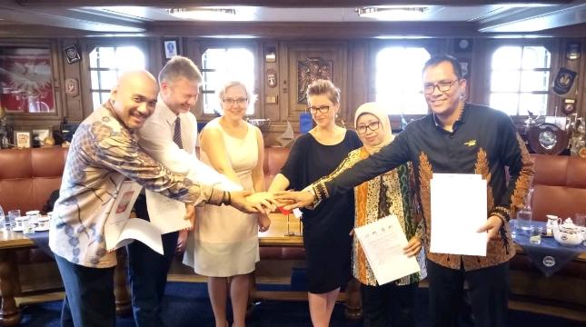 DKB (Persero) Jajaki Kerjasama Dengan Representasi Galangan Kapal dan Kemaritiman Negara Polandia