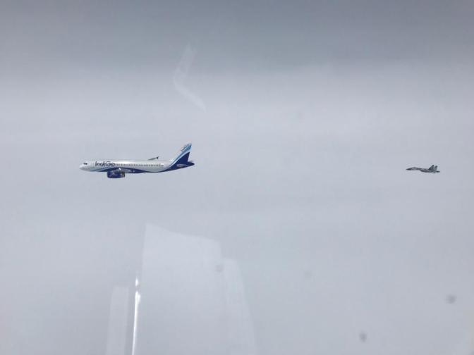 Sukhoi TNI AU Usir Pesawat Asing yang Terbang di Tanjungpinang