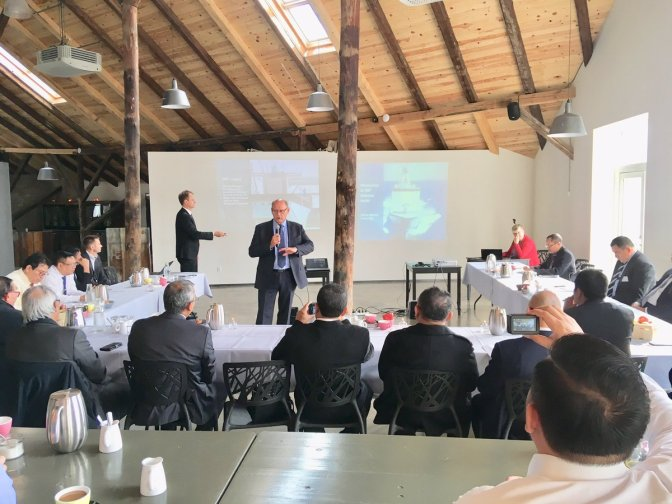 Technical Meeting and Discussion With Odense Maritime Technology A/S and the Delegations from the Indonesian Navy (Photo)