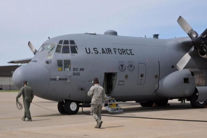 Tiga Pesawat Militer AS Kirim Bantuan untuk Korban Gempa Palu