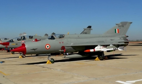 Indian Air Force MiG-21 fighter aircraft (File Photo)