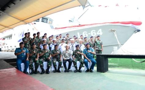 KAL Mamuju I-6-64 Memperkuat Alutsista TNI AL