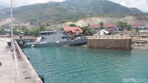 KAL Pulau Pasoso terdampak Gempa dan Tsunami di Sulteng. (Detik) 1
